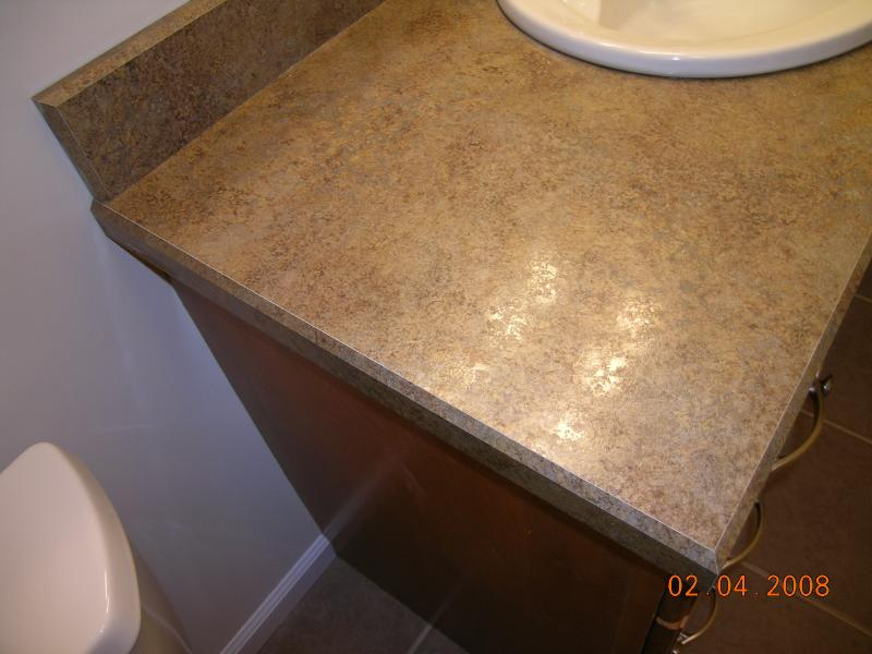 Countertop Beveled Edge : Here you see our beveled edge laminate. We can match all colors to ...