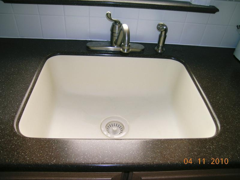Installing a Karran undermount sink makes clean up a breeze.
